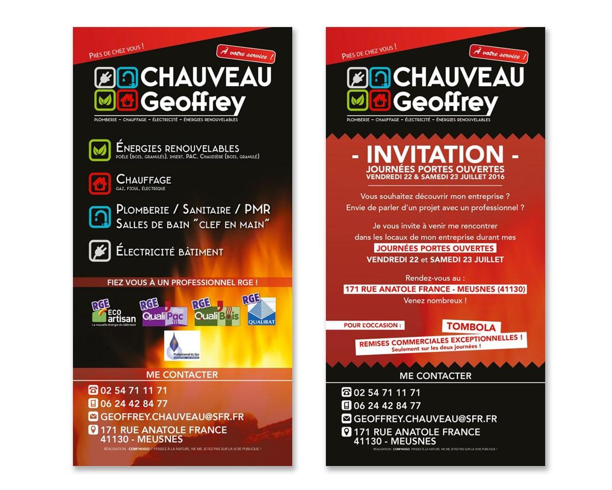 Flyer Chauveau Geoffrey
