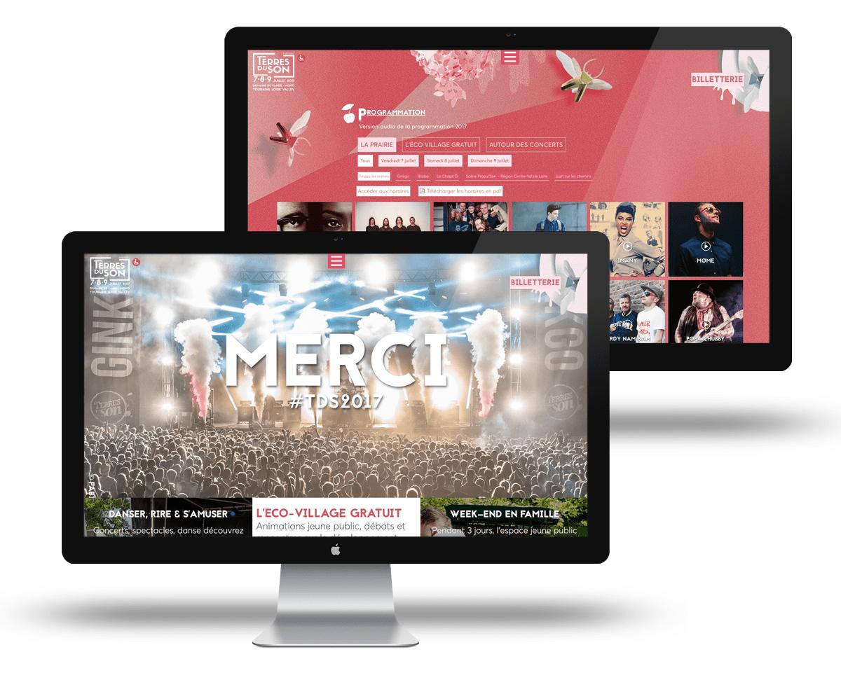 Webmaster - Festival Terres du Son 2017