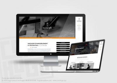 Création du site web de Bontemps Esquisse