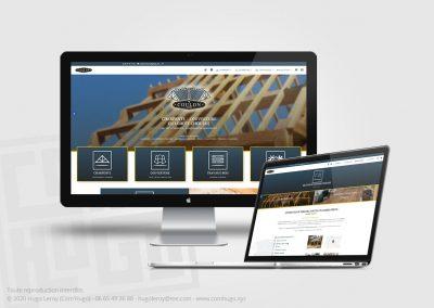 Création du site web de Coulon Toiture