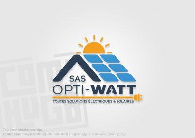 Création du logo SAS Opti Watt