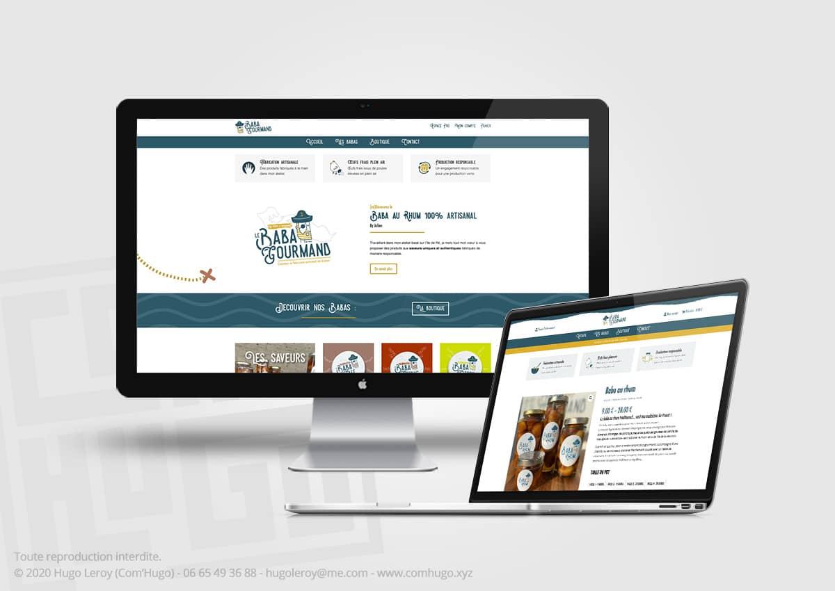 Création du site web e-commerce pour Les Pièges à Gourmands
